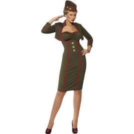 Costume femme capitaine des armées