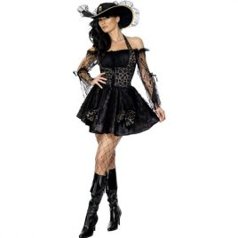 Costume femme capitaine bateau pirate