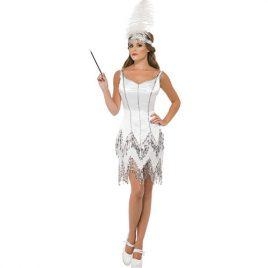 Costume femme charleston éblouissant - Vente et location déguisements Paris