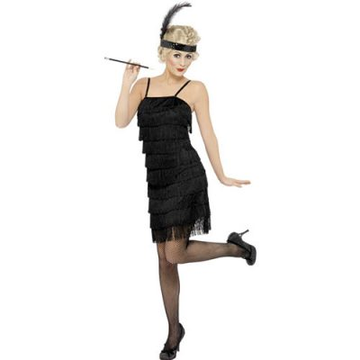 Costume femme charleston décalé - Vente location déguisements Paris