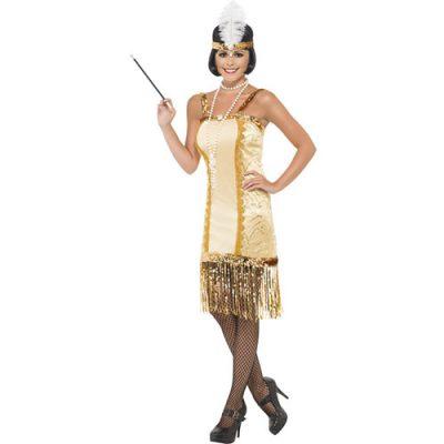 Costume femme charleston pimpant