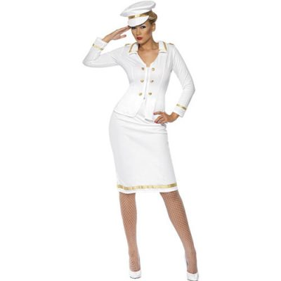 Costume femme officier de marine
