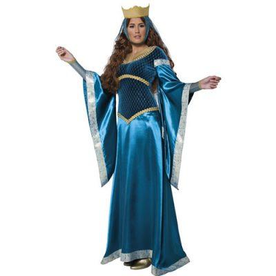Costume femme Marion conte médiéval