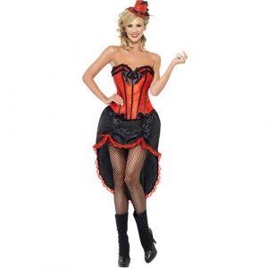 Costume femme danseuse cabaret burlesque