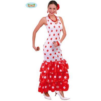Costume femme danseuse flamenco
