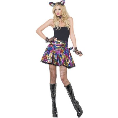 Costume femme disco party minette