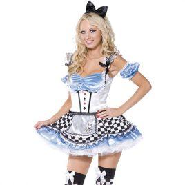 Costume femme douce Alice sexy