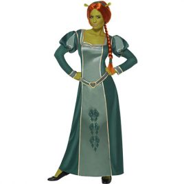 Costume femme princesse Fiona Shrek