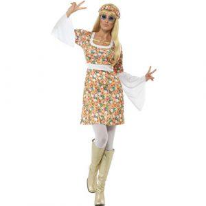Costume femme flower power