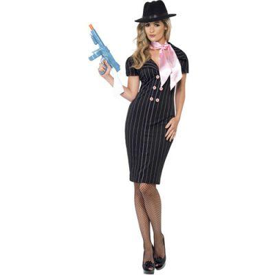 Costume femme gangster classe