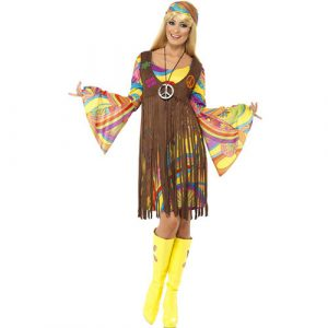 Costume femme groovy lady 1960