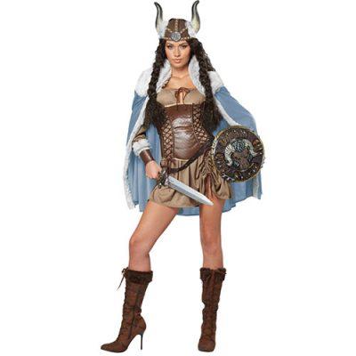 Costume femme guerrière viking