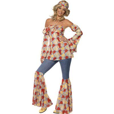 Costume femme hippie vintage 1970