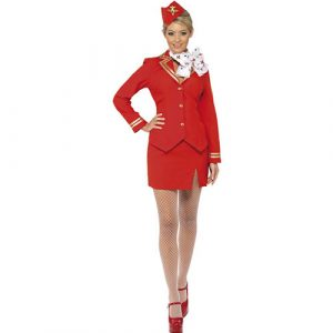Costume femme hôtesse de l'air