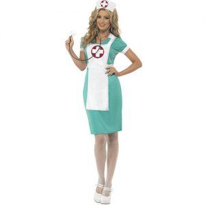 Costume femme infirmière croix rouge