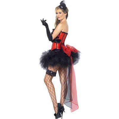 Costume femme kit burlesque