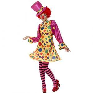 Costume femme lady clownette
