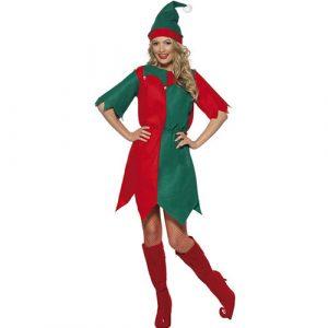 Costume femme lutine de Noël