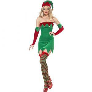 Costume femme lutine de Noël sexy