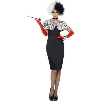 Costume femme Madame Cruella