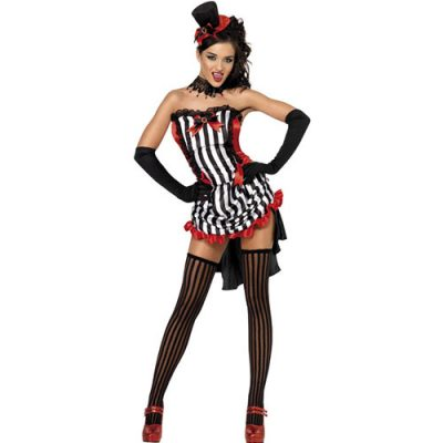 Costume femme Madame Vamp cabaret