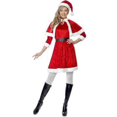 Costume femme Mère Noël élégante