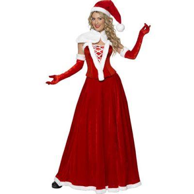 Costume femme Mère Noël raffinée