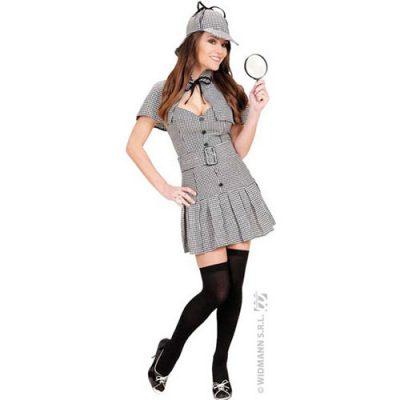 Costume femme miss détective Sherlock