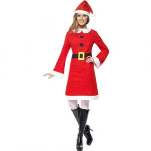 Costume femme miss Noël atelier