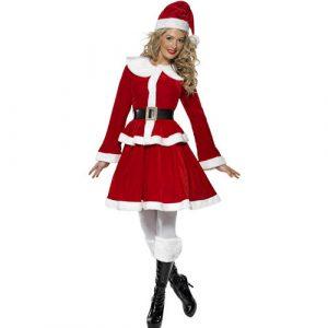 Costume femme miss Santa