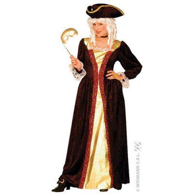 Costume femme noble vénitienne