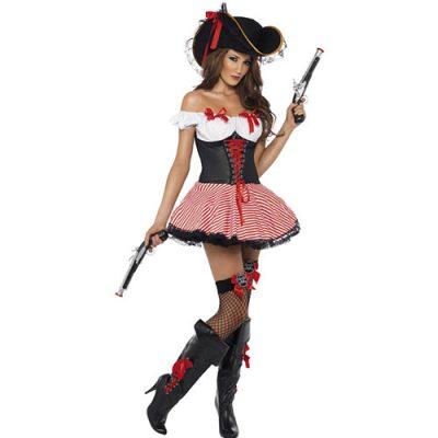 Costume femme piratine des sept mers