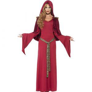 Costume femme prêtresse médiévale
