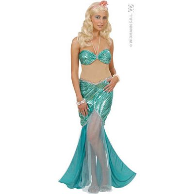 Costume femme princesse sirène