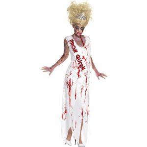 Costume femme reine de promo zombie