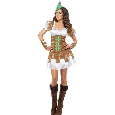 Costume femme Robin des bois sexy