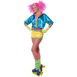 Costume femme roller show