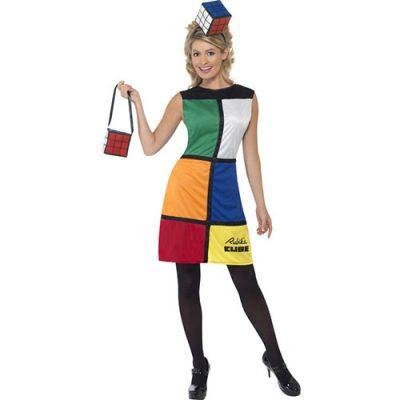 Costume femme Rubiks cube