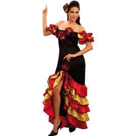 Costume femme rumba