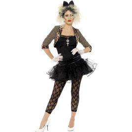 Costume femme look sauvage 80s
