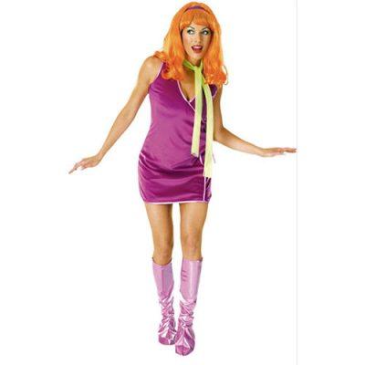 Costume femme Daphné Scoobidoo licence