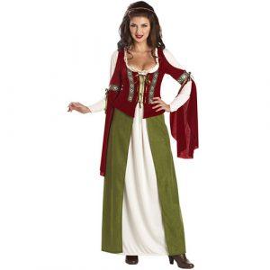 Costume femme servante médiévale