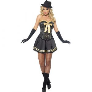 Costume femme sexy gangster