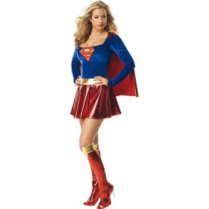 Costume femme sexy Supergirl