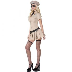 Costume femme sexy sheriff Farwest