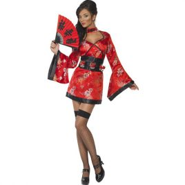 Costume femme Vodka sexy geisha