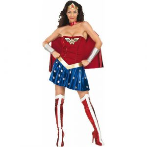 Costume femme Wonder woman licence