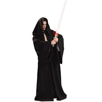 Costume homme Jedi noir Star Wars luxe