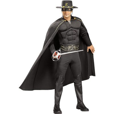 Costume homme Zorro licence