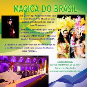 Le cabaret Magica do Brasil